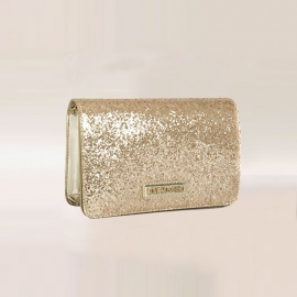 Sac brillant en polyréthane,  Love Moschino